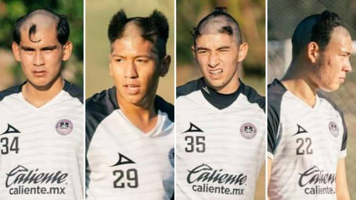 South American Football's Initiation Tradition Results In Some Horrendous Haircuts