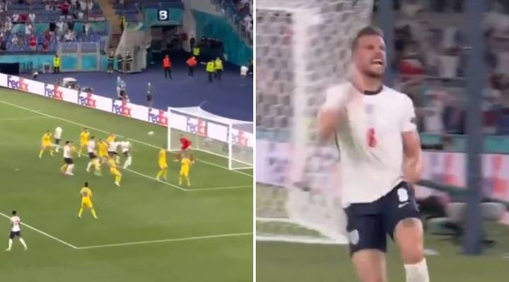 Jordan Henderson Has Finally Scored His First Goal For England And The Scenes Were Emotional
