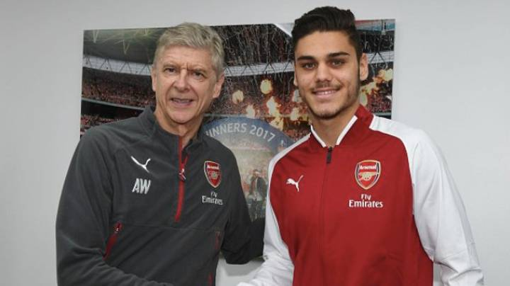 Arsenal Complete Their First Signing Of The January Transfer Window