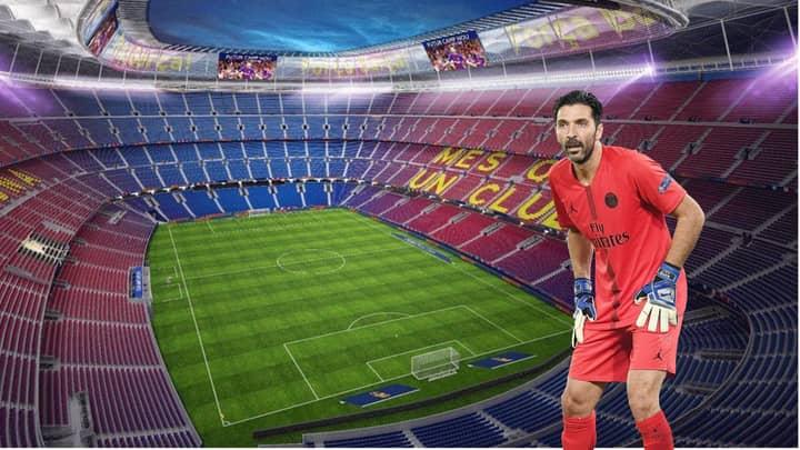 Barcelona Considering Signing Gianluigi Buffon As Back-Up Goalkeeper