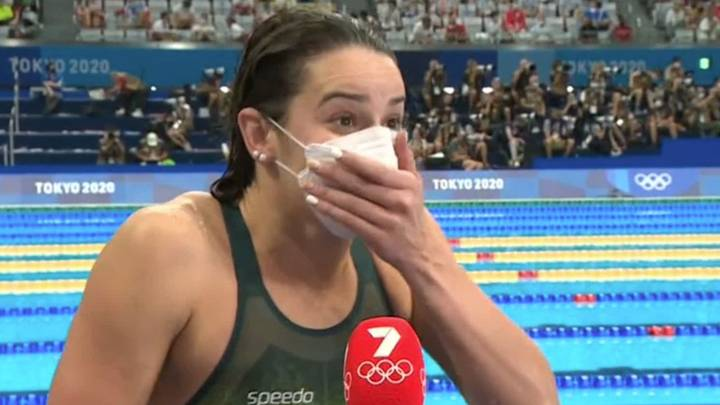 'F**k Yeah': Aussie Swimmer Gives X-Rated Answer During Interview After Winning Olympic Gold