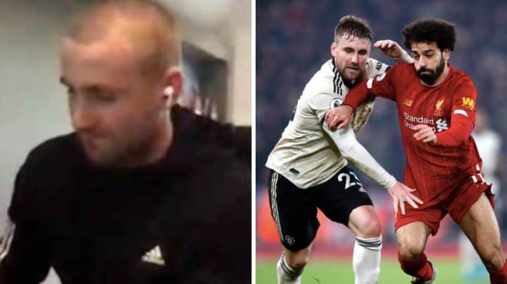 Luke Shaw Wants The Premier League Season To Be Declared Void