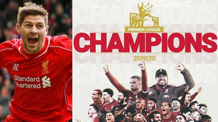 Steven Gerrard's Emotional Reaction To Liverpool's First Ever Premier League Title