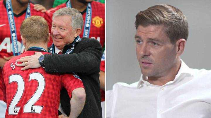 Steven Gerrard's Honest Response To Sir Alex Ferguson Saying He Wasn't 'A Top, Top Player'