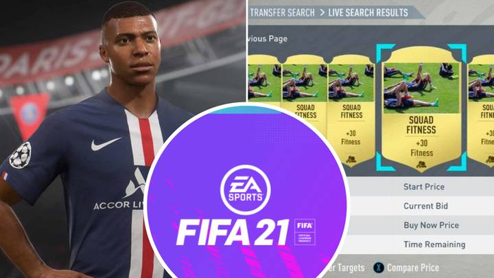EA Sports Confirm Fitness And Training Cards Have Been Scrapped In FIFA 21
