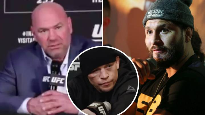 UFC President Dana White Teases Jorge Masvidal's Next Opponent After Nate Diaz's Promo Video