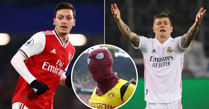 Mesut Ozil Chooses Side In Pierre-Emerick Aubameyang Vs Toni Kroos Row