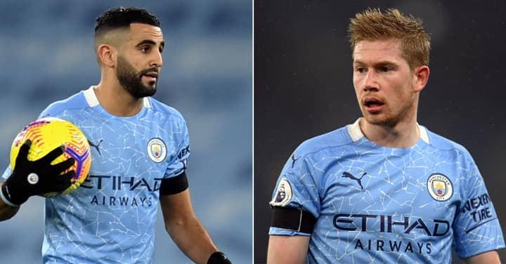 Man City Fans Angry As Riyad Mahrez Votes Liverpool Star Above Kevin De Bruyne