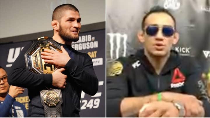 Tony Ferguson Savagely Taunts Khabib Nurmagomedov And Reacts To UFC Event On May 9