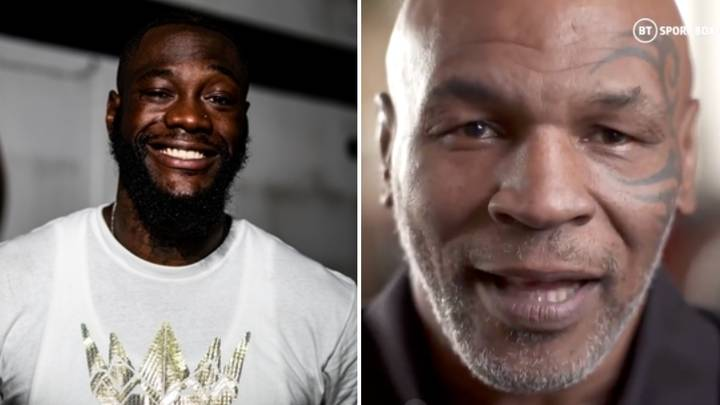 Mike Tyson's Classy Response To Deontay Wilder Claiming He Could KO Him In His Prime