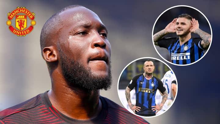 Manchester United Turn Down Icardi And Nainggolan In Player-Plus-Cash Deal For Romelu Lukaku