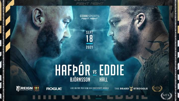 Eddie Hall Vs Thor Boxing Date And Tickets