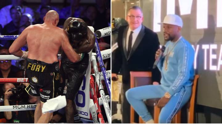 Floyd Mayweather Makes Offer To Deontay Wilder Ahead Of Tyson Fury Trilogy Bout