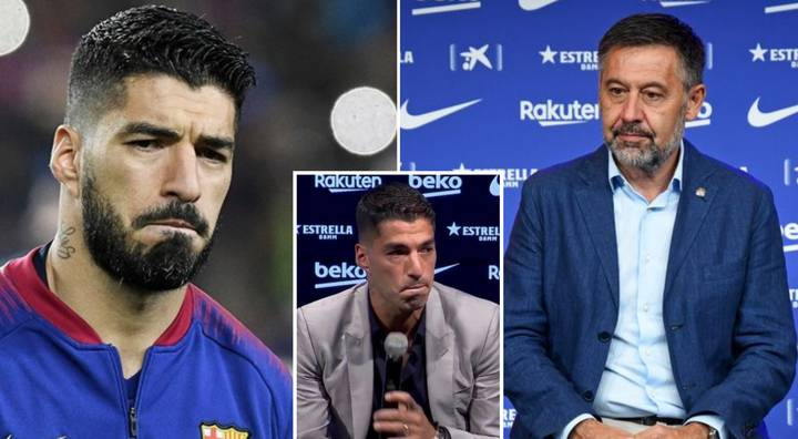 Luis Suarez Final Threat To Barcelona Before Joining Atletico Madrid