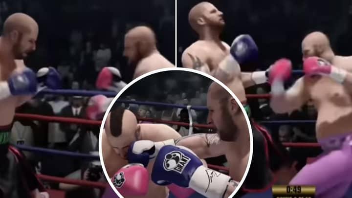 YouTuber Simulates 'The Mountain' Vs Eddie Hall On Fight Night, One Man Dominates