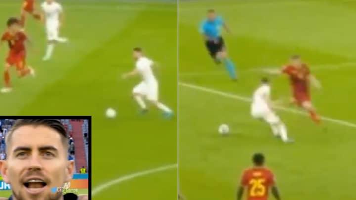 Jorginho's Sensational Highlights Vs Belgium Prove He Might Actually Be A Ballon d'Or Contender