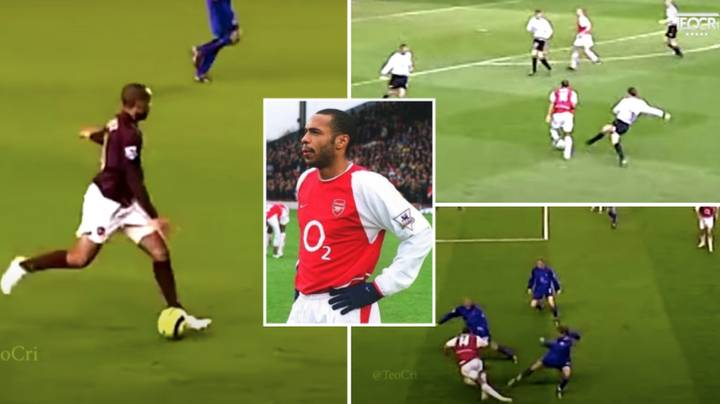 Compilation Of Thierry Henry At Arsenal Proves He Is The Most Entertaining Player In Premier League History