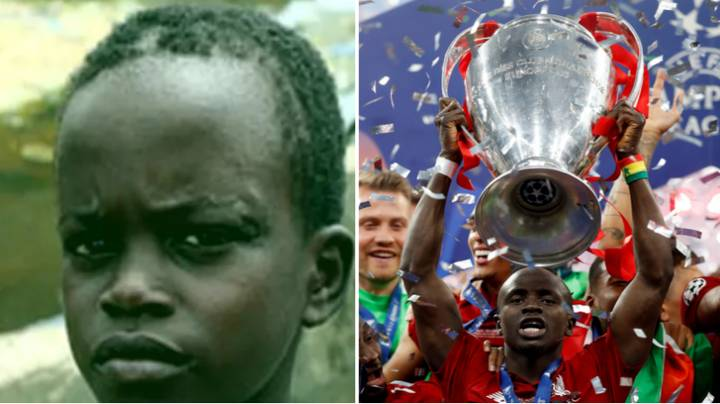 A 16-Year Old Sadio Mane Ran Away From Home Because He Wanted To Play Football So Badly