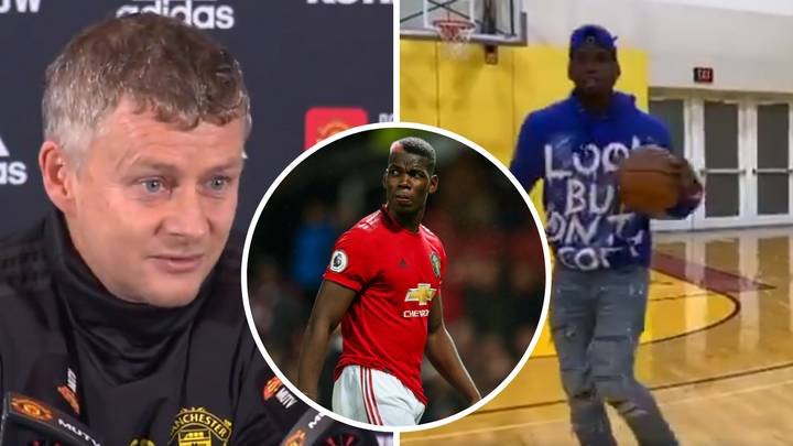 Ole Gunnar Solskjaer Insists Paul Pogba Is Still Injured Despite Being Filmed Playing Basketball