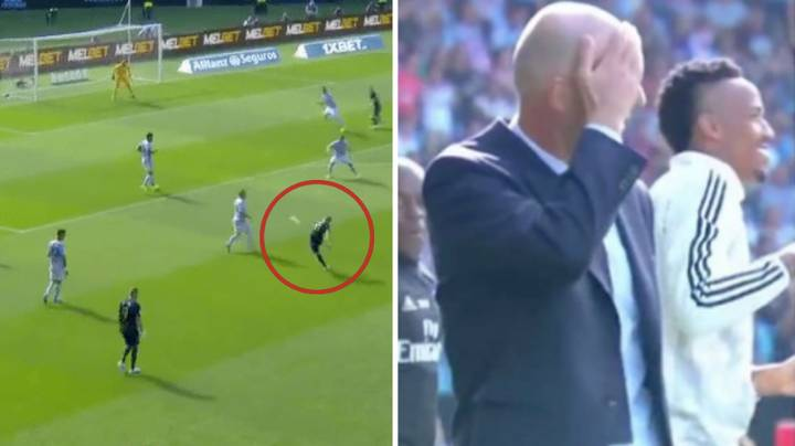 Toni Kroos Scores Goal Of The Season Contender And Zinedine Zidane's Reaction Is Priceless