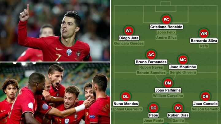 Cristiano Ronaldo Bruno Fernandes And Bernardo Silva Are Headline Names In Portugal S Euro 2020 Squad