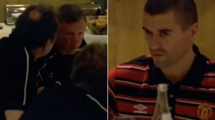 Incredible Footage Of Roy Keane Losing His Head In Manchester United Pub Quiz
