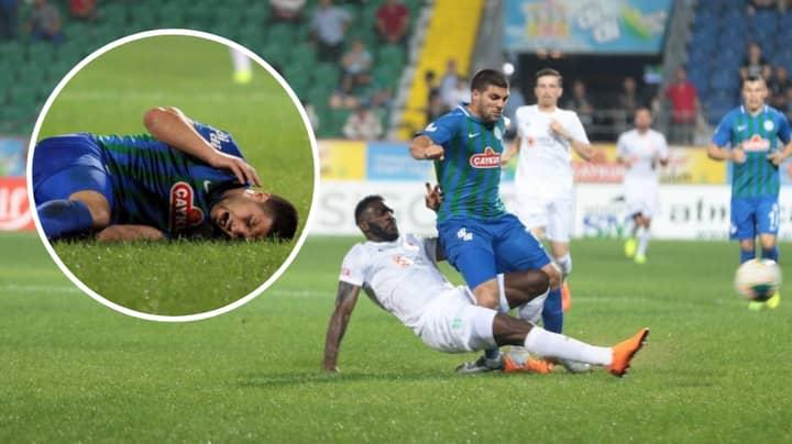 Turkish Super Lig Forward Moestafa El Kabir Had A Nightmare Day