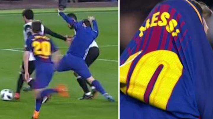 Francis Coquelin Invented A New Method To Stop Lionel Messi