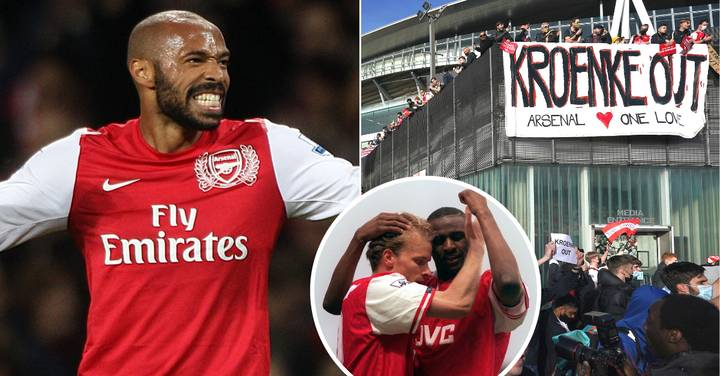 Arsenal Legends Thierry Henry, Dennis Bergkamp And Patrick Vieira Join Bid To Buy Club