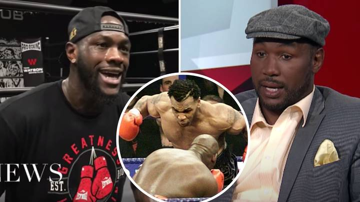When Deontay Wilder Hit Back At Lennox Lewis For Saying He Couldn't Destroy Mike Tyson