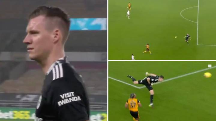 Arsenal Goalkeeper Bernd Leno Sent Off After Punching The Ball Outside His Box In Moment Of Madness