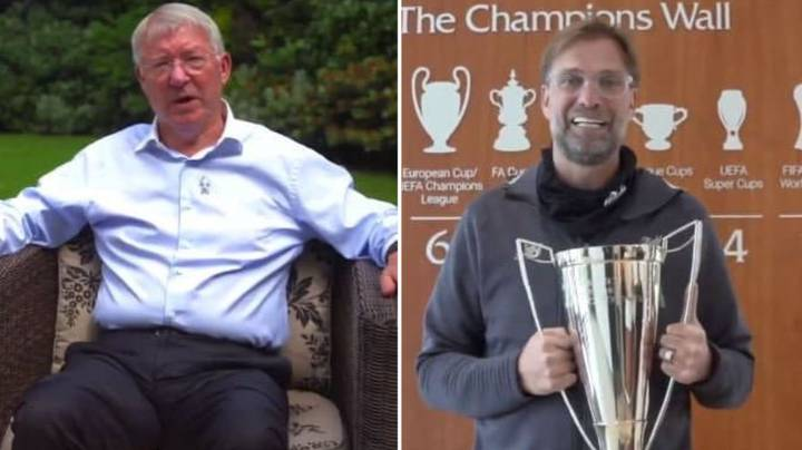 Sir Alex Ferguson Sends Brilliant Message To Jurgen Klopp For Winning Manager Of The Year