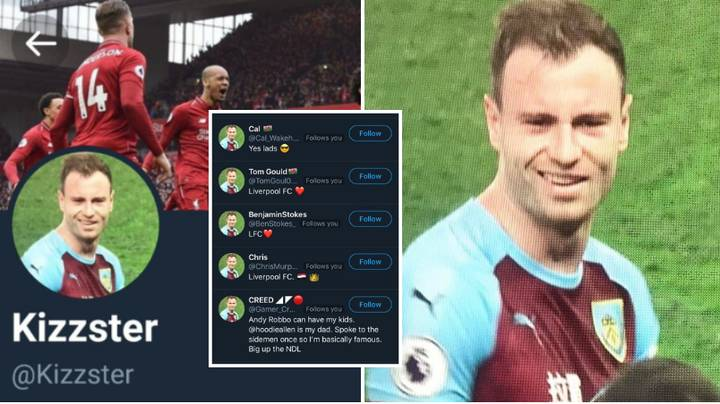 Liverpool Fans Are Changing Their Twitter Pictures To Ashley Barnes Ahead Of Burnley Vs City