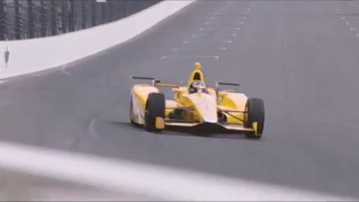 WATCH: Fernando Alonso's First Test In Indy 500 Goes Well