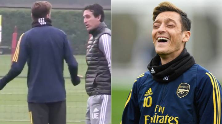 Mesut Ozil Aims Subtle Dig At Unai Emery After Training Ground Bust Up Video Goes Viral