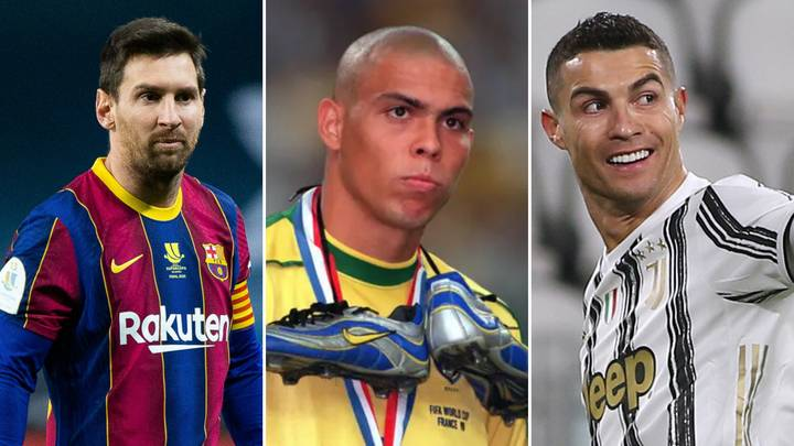 Ronaldo Nazario's Dream XI Could Be One Of The Best Teams Ever