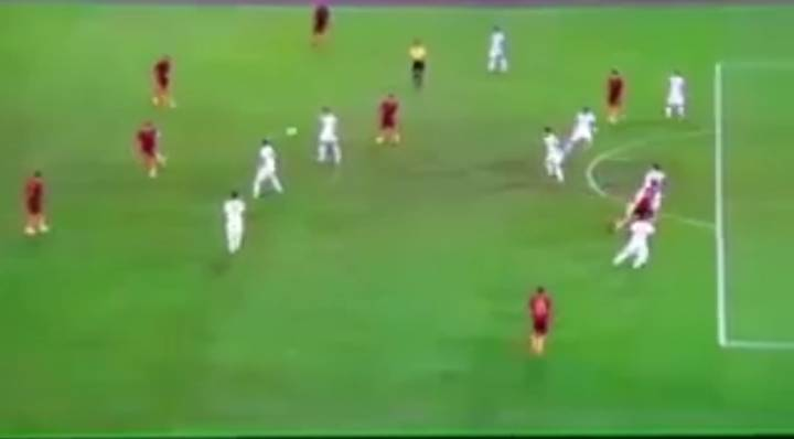 WATCH: Francesco Totti's Feet Are Made Out Of Magic