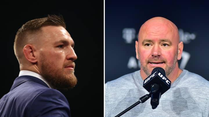 Dana White Names The Fight That 'Makes Sense' For Conor McGregor