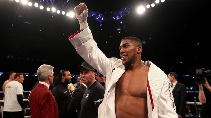 Anthony Joshua's Class Started Before The Fight With Act To Police