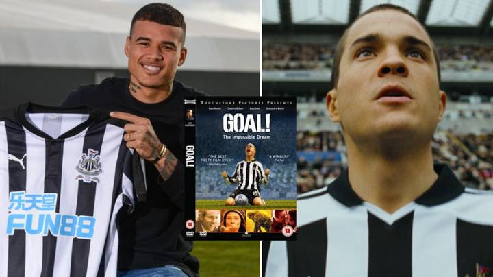 Newcastle United Signing Kenedy Reveals His Enjoyment For The Film 'GOAL!'