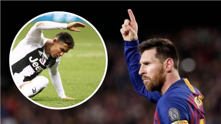 Lionel Messi's Free Kick Record Compared To Cristiano Ronaldo's Is Incredible