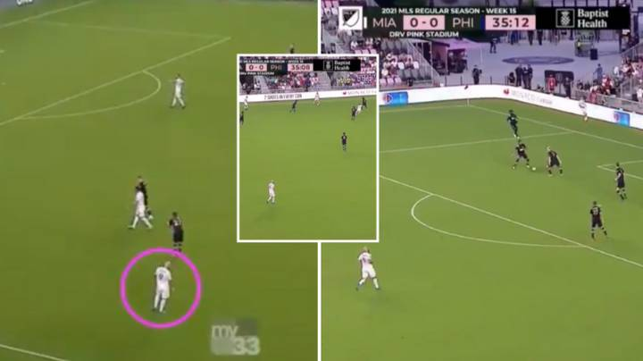 Damning Footage Shows Gonzalo Higuain Displaying Absolutely No Effort In The 35th Minute Of Game