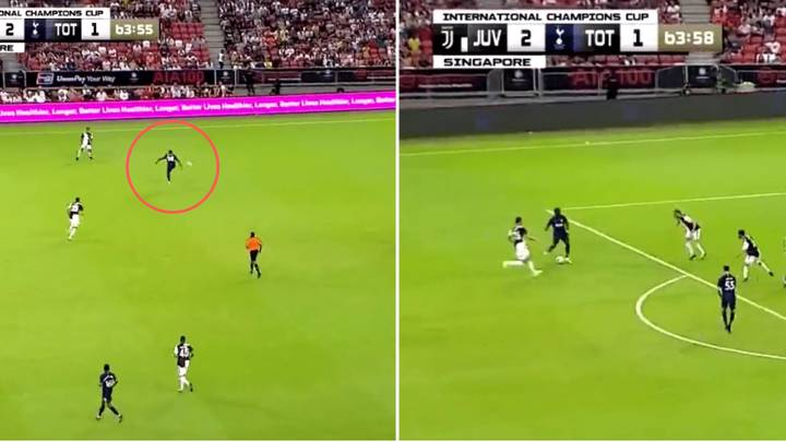 Ndombele Intercepted A Pass Then Set-Up Moura With His First Four Touches Of The Ball