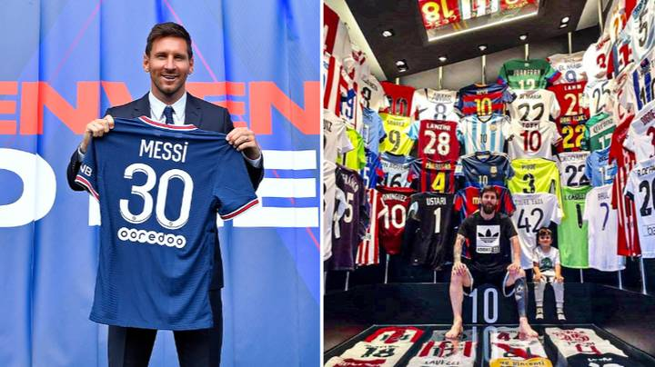 Ligue One Players Are Already Begging For Lionel Messi's Shirt