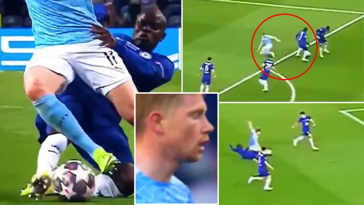 Kevin De Bruyne Is Another World Class Player To 'Fail The N'Golo Kante Test' In Remarkable Video