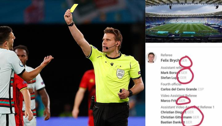 England Fans Fear The Worst As German Referee, Plus Six German Officials Announced For Ukraine Game