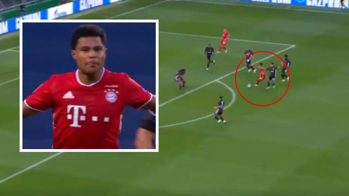 Serge Gnabry Scores Incredible Solo Goal To Give Bayern Munich The Lead Vs Lyon