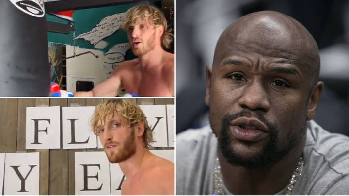 Logan Paul Brutally Taunts Floyd Mayweather In Video Call Out