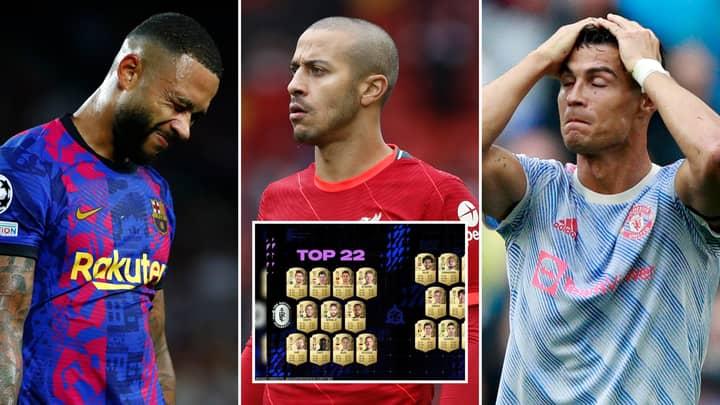FIFA 22 Gamer Exposes 10 New Player Ratings That Simply Don't Make Sense