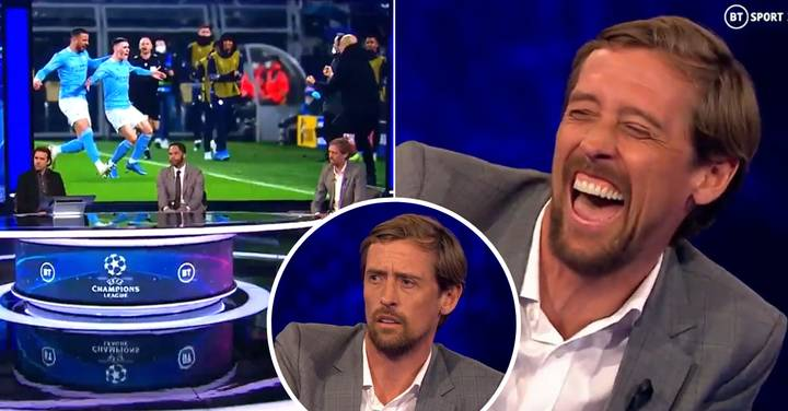 Peter Crouch Forgetting His Champions League Goal Record On Live TV Is Hilarious